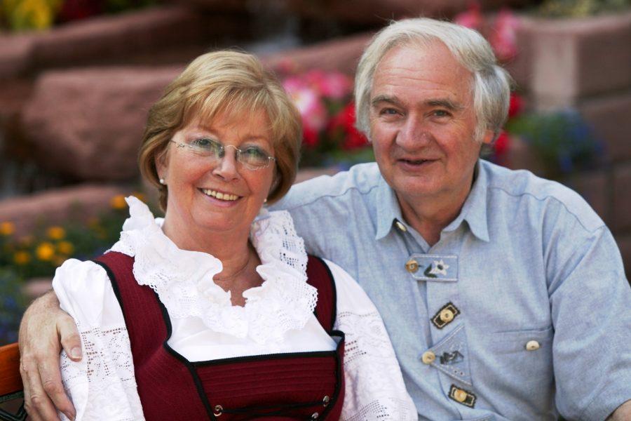 Braune Horst und Helga